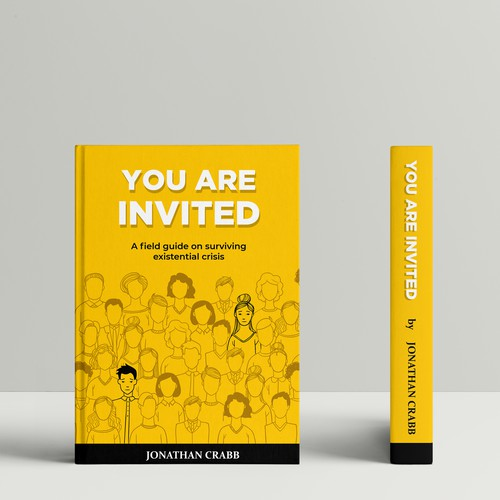 "Book cover ""You are Invited"" by Jonathan Crabb"