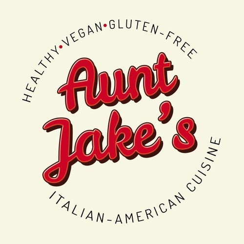 Aunt Jake's Logo design