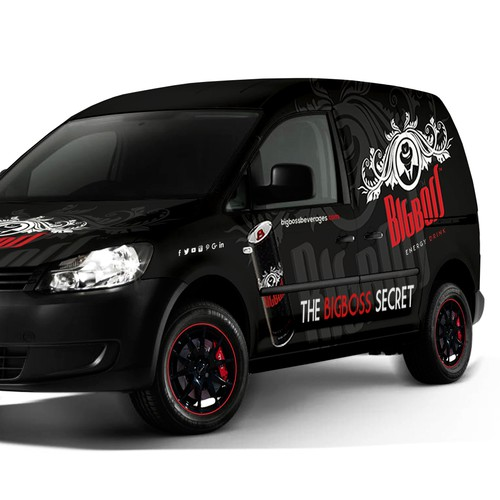 BIG BOSS  | VAN WRAP DESIGN