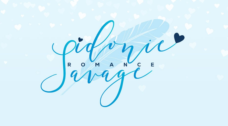 Logo and Social Media Pack for Romance Writer Sidonie Savage
