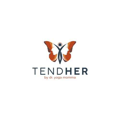 Logo concept for Tend Her
