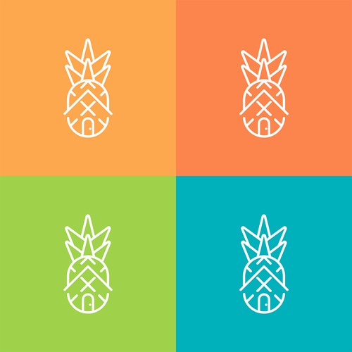Pineapple X Real Estate Logo