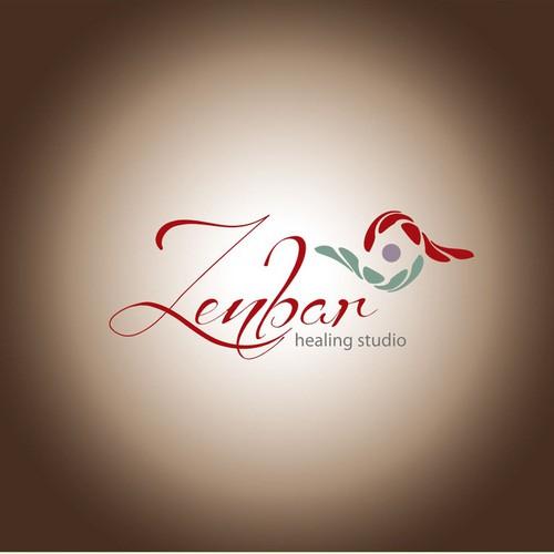 logo for Zenbar Healing Studio