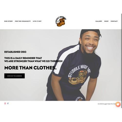 Struggle Made Me Clothing Company
