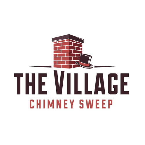 Bold logo for Chimney sweep company