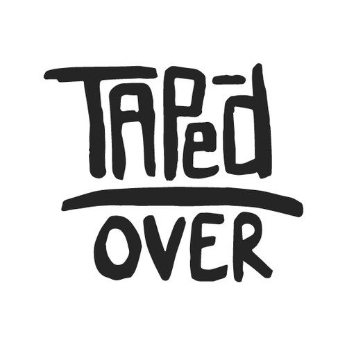 TapedOver Logo for gig guide