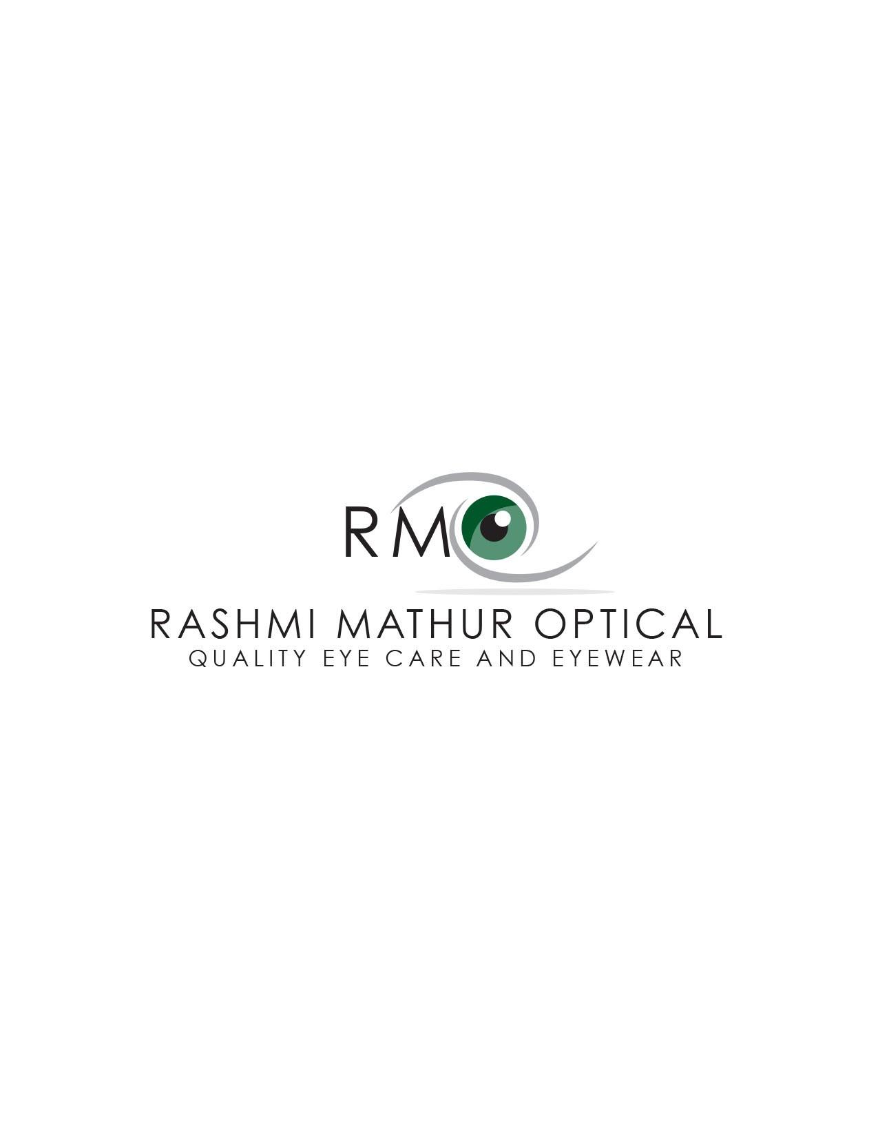 New logo wanted for ONE NAME - Rashmi  Mathur Optical + INITIALS - RMO
