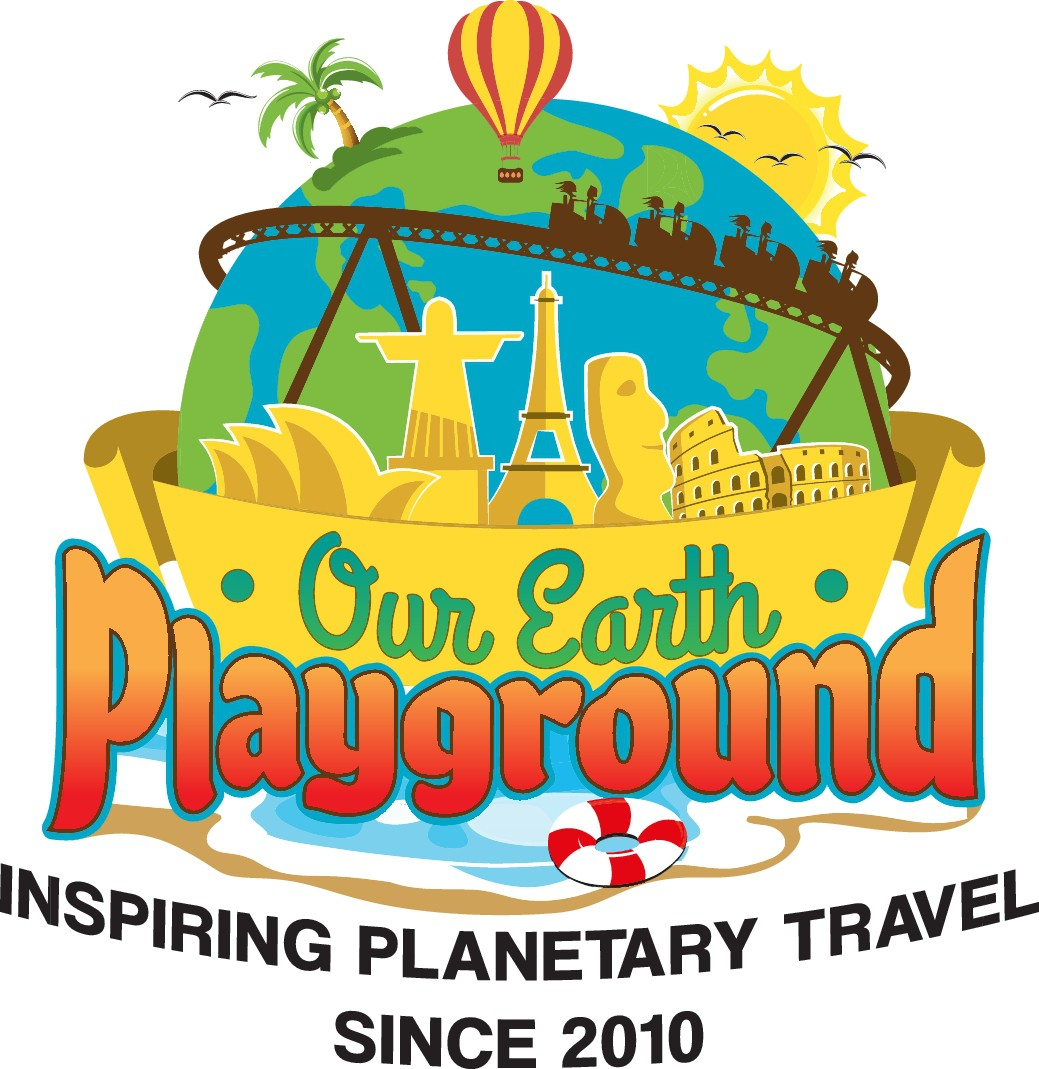 "Design a logo for a fun & modern inspirational travel website (""Our Earth Playground"")!"