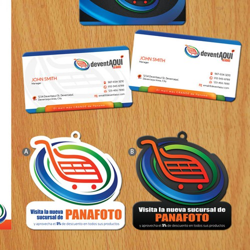Create the next stationery for deventaqui.com