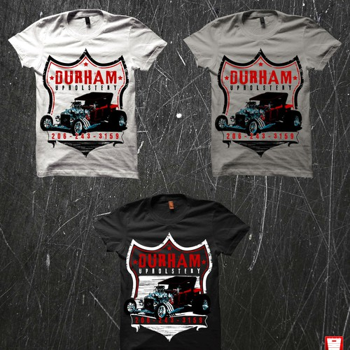 T-shirt Concept for Car Upholstery Company