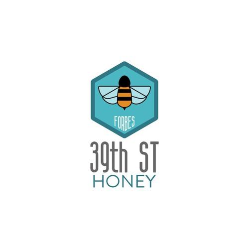 Logo for artisanal honey producer