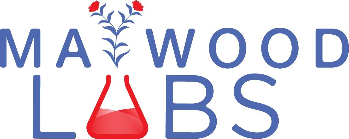 Maywood Labs Logo design