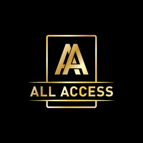 All Access logo design