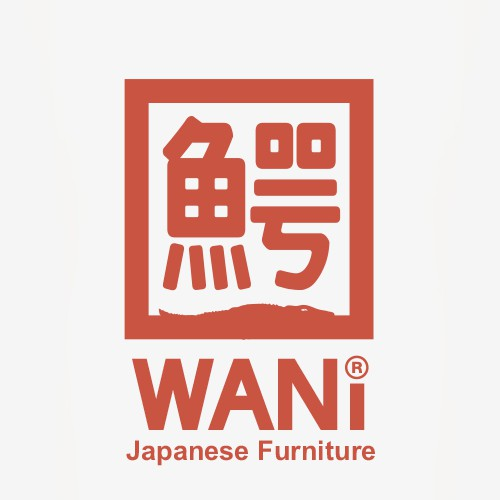 Create a logo for Wani Japanese Imports (sells traditional Japanese furniture online)