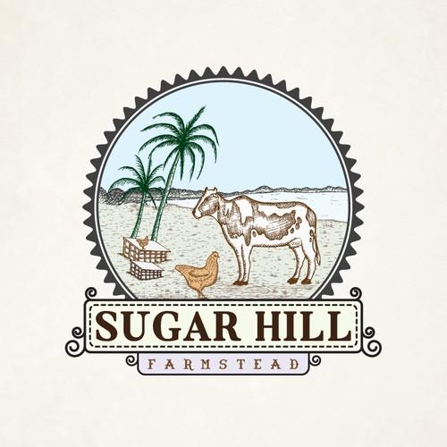 Create Vintage Logo for Hawaii Farm