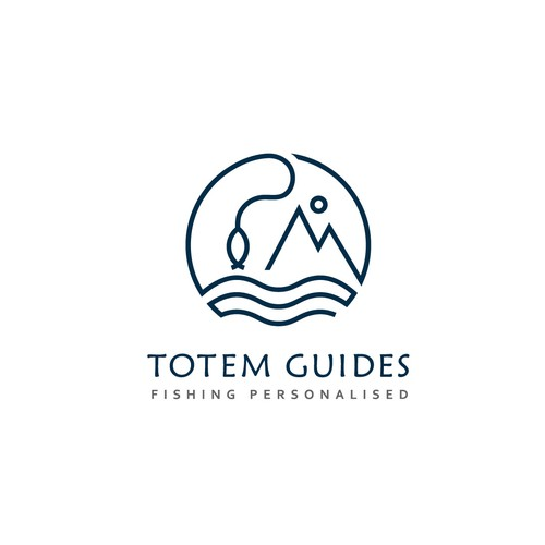 Logo for fishing business
