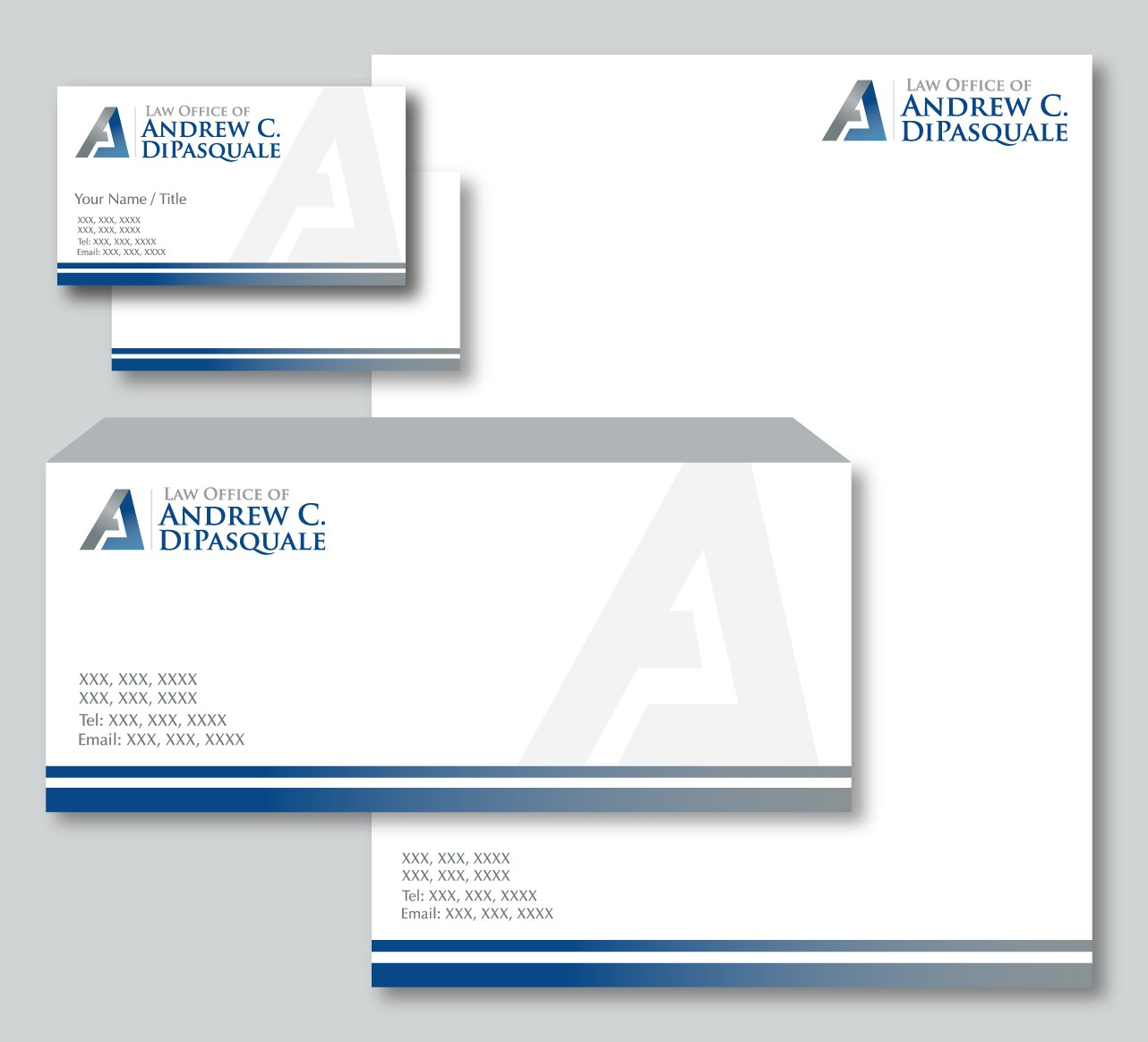 New logo wanted for Law Office of Andrew C. DiPasquale