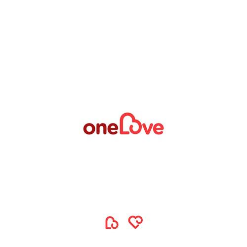 bold logo for oneLove