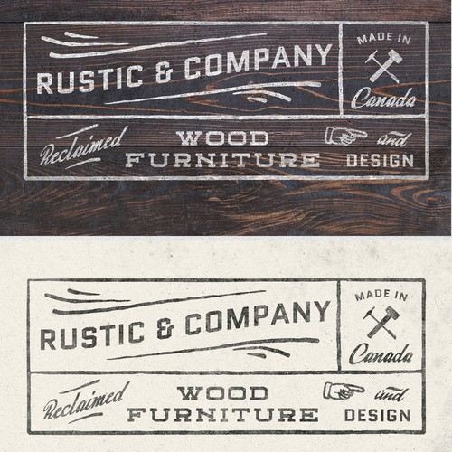 Vintage Rustic Logo Design