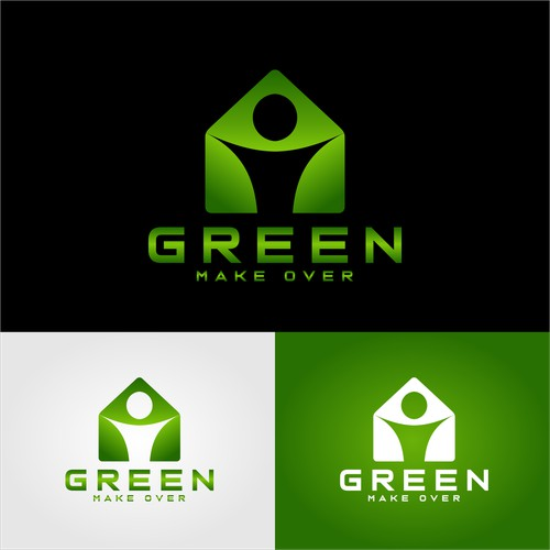Green Make Over Design logo