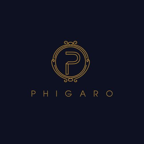 Bold logo for Phigaro