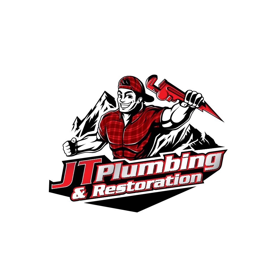 We need a new masculine, modern, and adaptable logo for our plumbing and restoration company