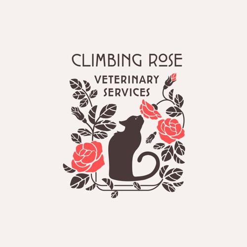 Logo for veterinary service