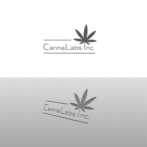Logo for a canabis testing lab