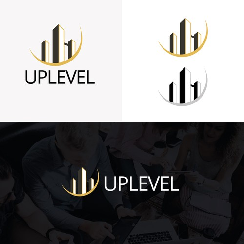 "Logo for Reat Estate company ""Uplevel"""