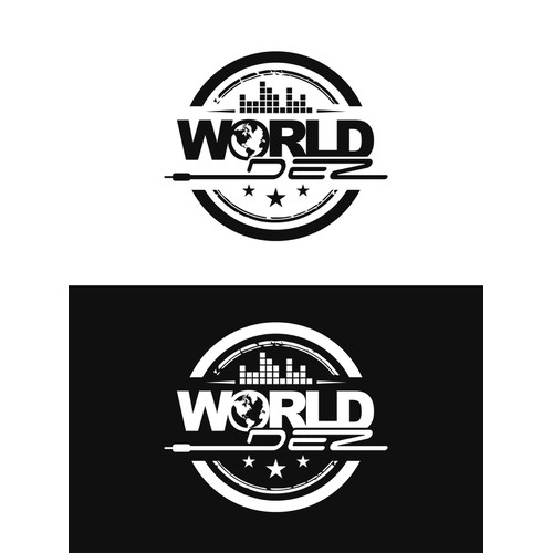 logo for world  dez