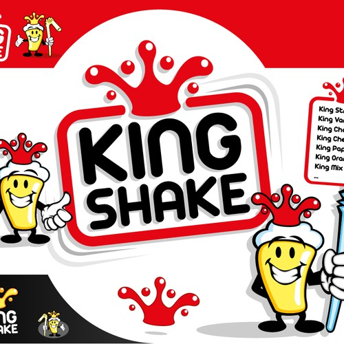 KING SHAKE needs a beautiful LOGO