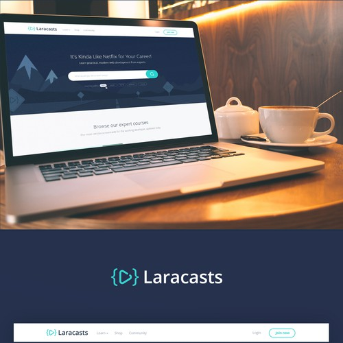 Laracasts Website Design