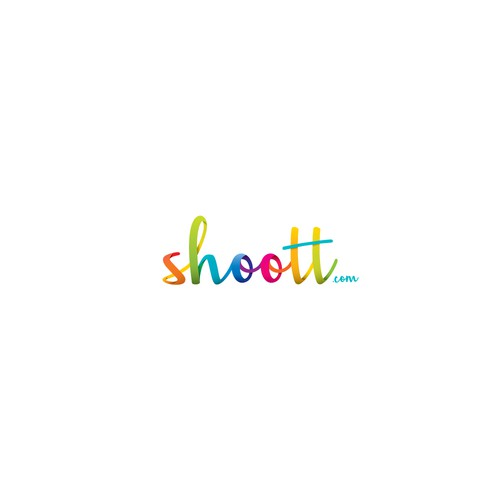 Colorful logo for a professional photography service.