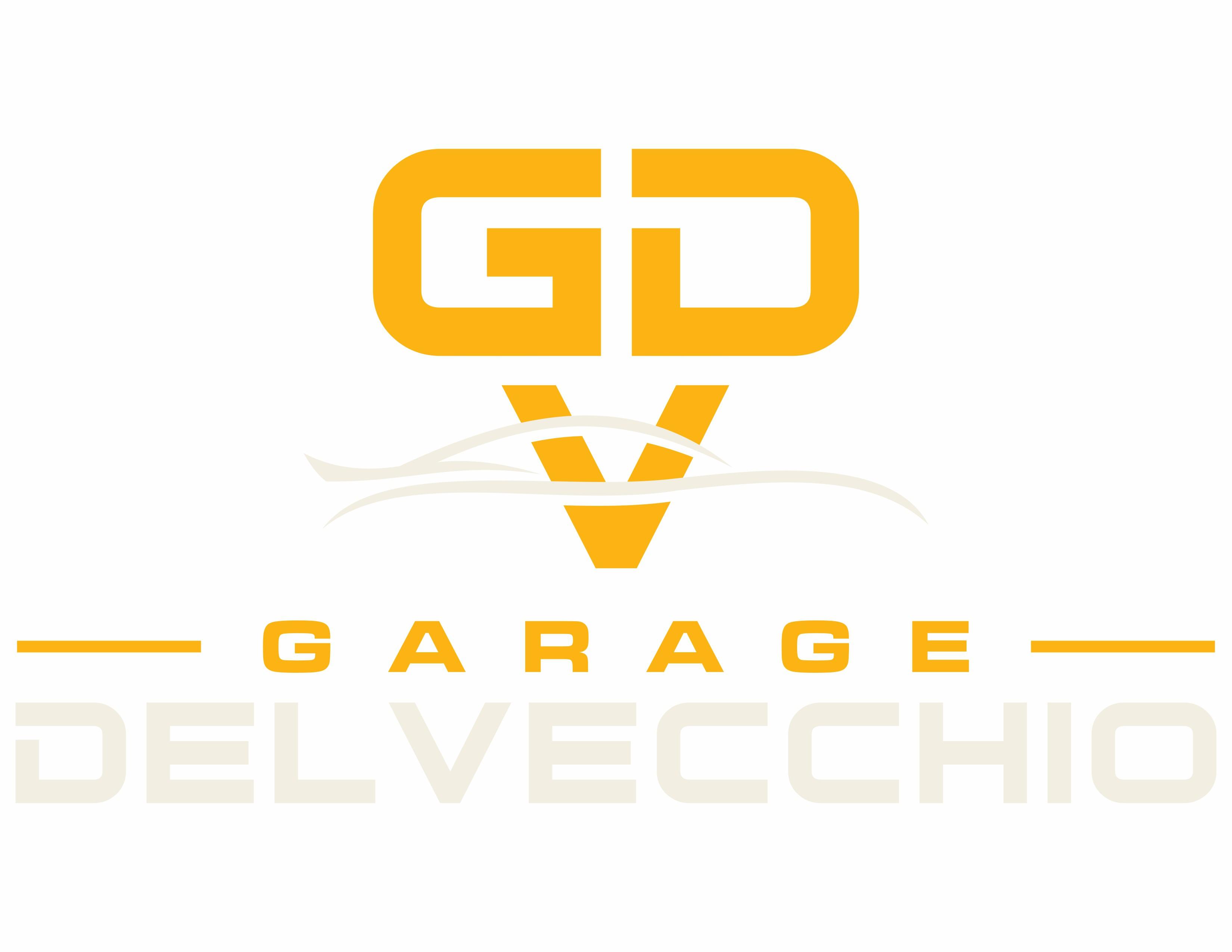 Garage Del Vecchio braucht ein vielsagendes, elegantes Logo