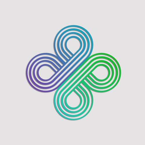 Logo concept for a cross road app