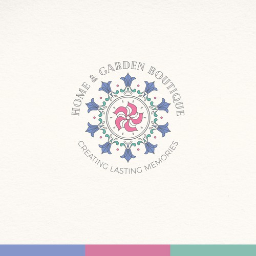 Logo design for home & garden boutique