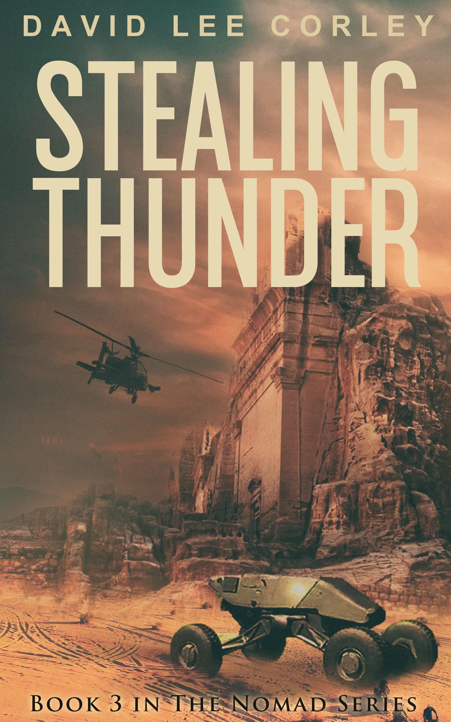 Military Tech Novel Needs Killer Book Cover