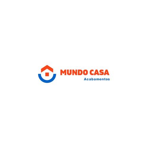 Construction store logo concept