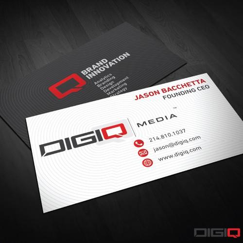 DIGIQ Media   Business Card