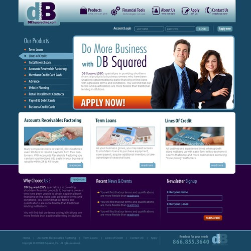 New Business Lending Company Needs Website!