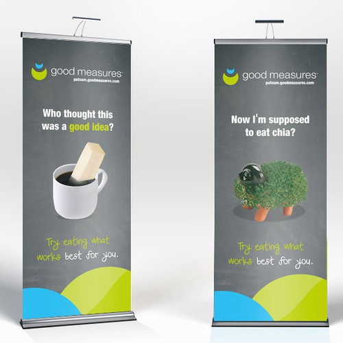 4 Banners for Wellness Program