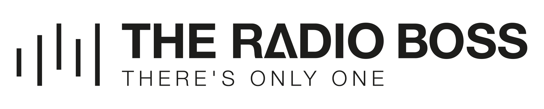 Design a powerful, bold, confident logo for The Radio Boss