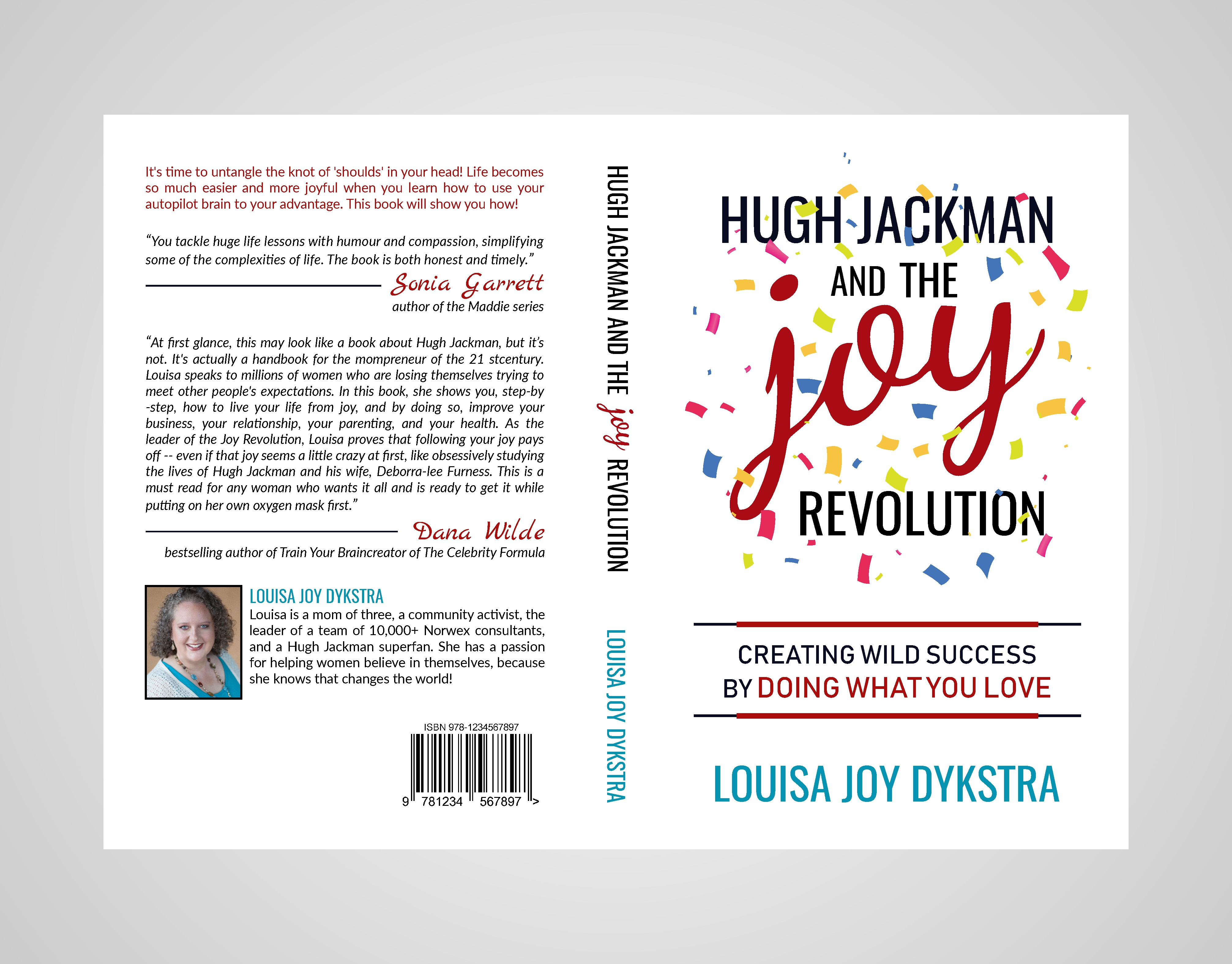 Book cover for Hugh Jackman and the Joy Revolution