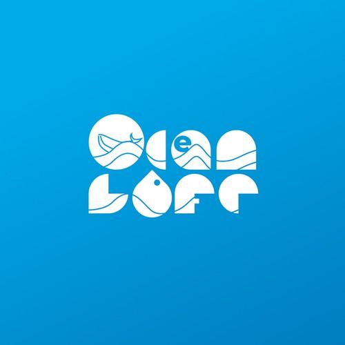 Logo concept for Ocean Life videos and photographs