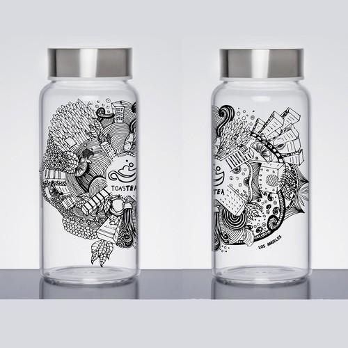 Bottle design for tea