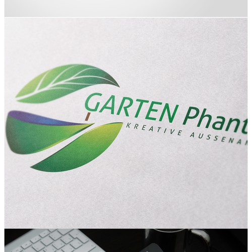 Gartenphantasie sucht ein neues Logo, das uns umhaut!