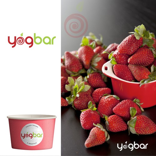 Logo for frozen yogurt