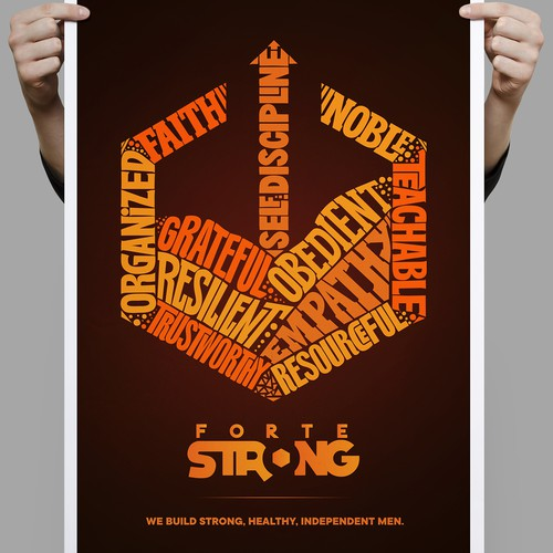 Forte strong poster.