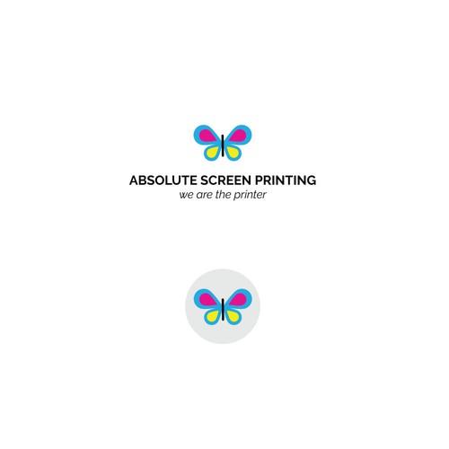 logo for screen printing t-shirt shop