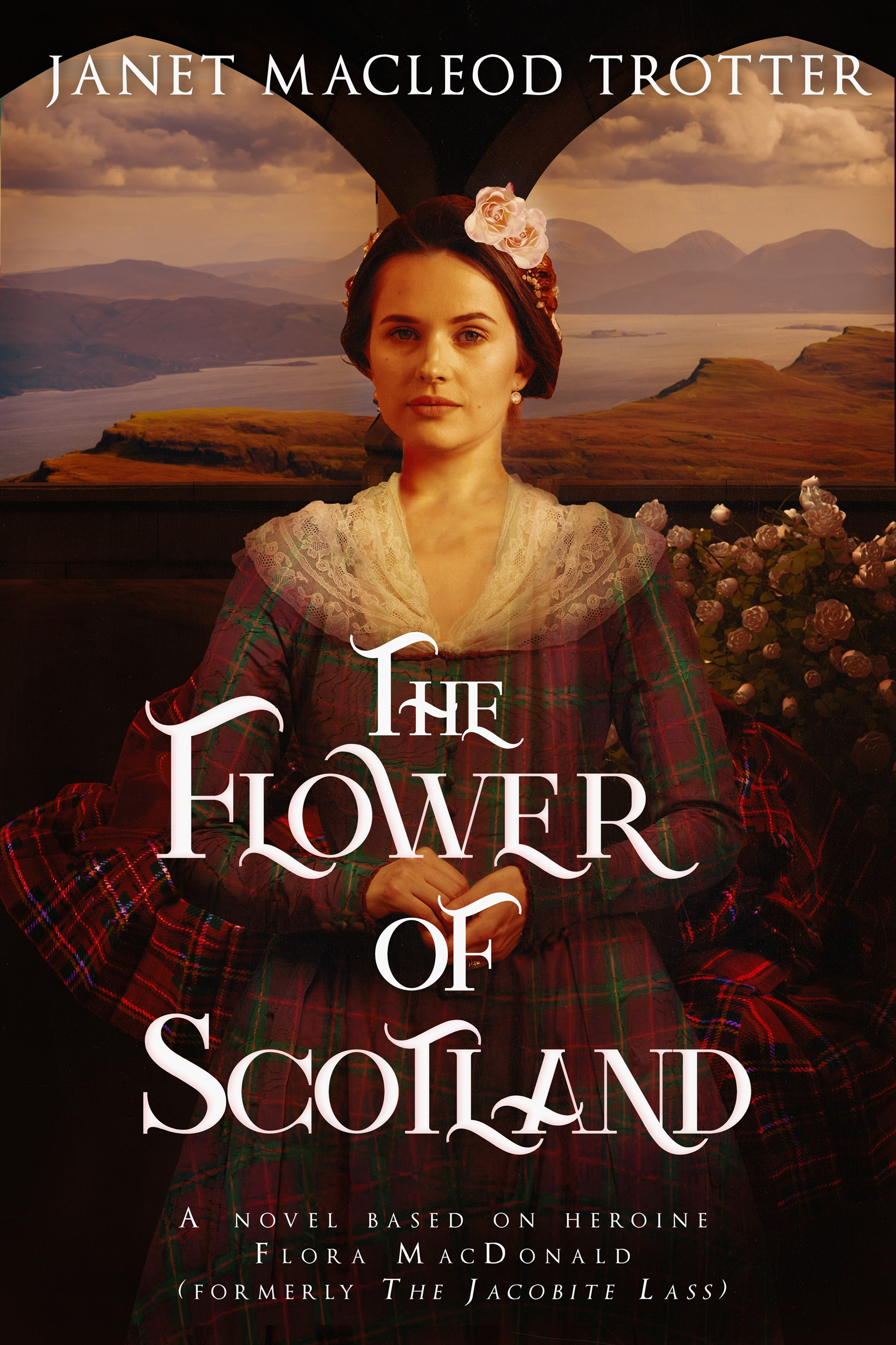 A great ebook cover for Scottish historical novel that will wow women readers.